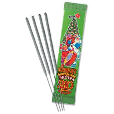 Свечи бенгальские Экстра 6 шт L210 (толстая)