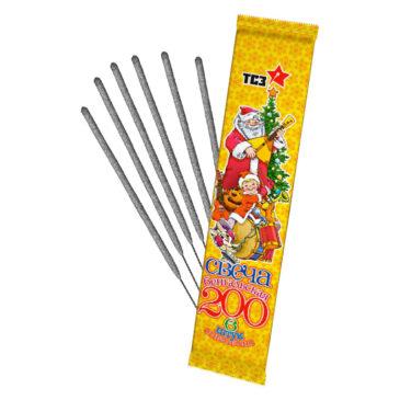 Свечи бенгальские 6 шт L200